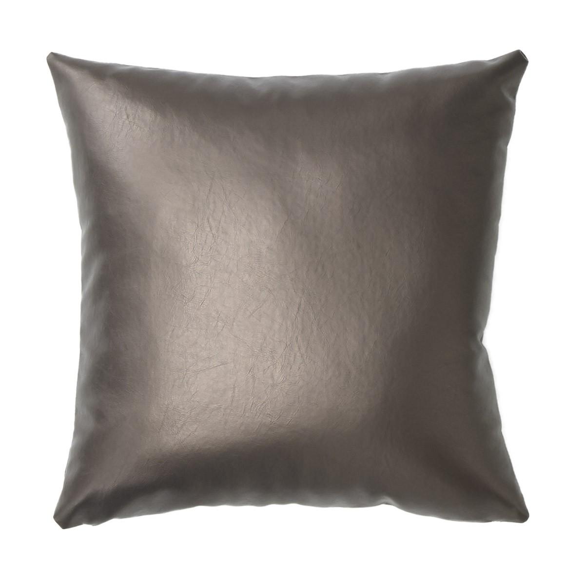 coussin cuir bronze. Black Bedroom Furniture Sets. Home Design Ideas