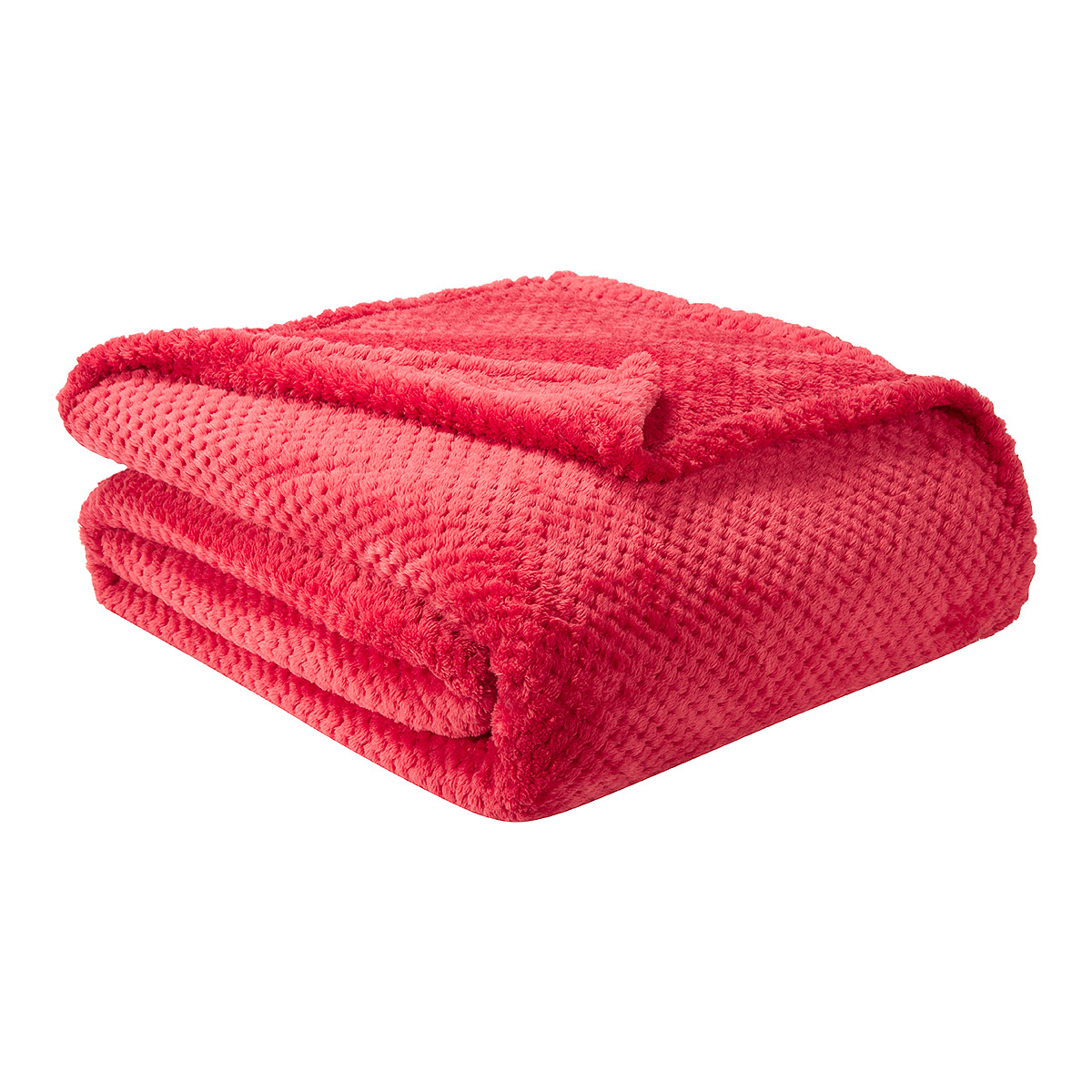 promotion 30 i fil home couvre lit sweet rouge 220 x. Black Bedroom Furniture Sets. Home Design Ideas